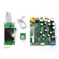 ES9038 Q2M DAC decoder board IIS dsd fiber coaxial input 384k dop128+TFT display