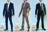 """SGTOYS S016 1/6 Male Narrow Shoulder Suit Clothes Set for 12"""" Figure Presale"""