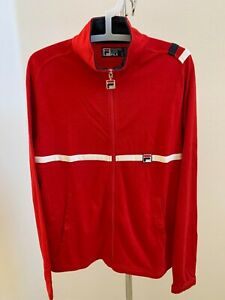 FILA Jacket  RED Size Small