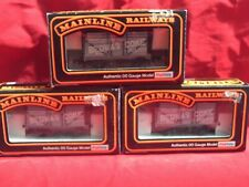 "MAINLINE 37-164 RAKE OF ""BEDWAS"" COKE WAGONS X 3 NEW IN BOX"