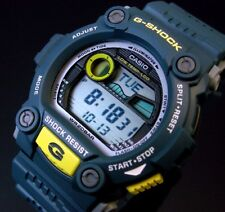 Casio G-Shock Mens Digital Wrist Watch G7900-2 G-7900-2 Moon Tide Tables Blue