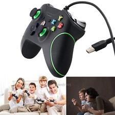 USB Wired Gamepad Game Controller Dual Vibration Joystick for Microsoft Xbox One