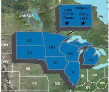 Garmin Upper Midwest Fishing Guide - microSD/SD w/ Lake of the Woods /Rainy Lake