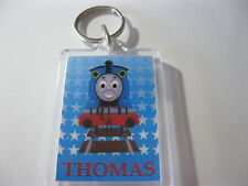Personalised Thomas The Tank Engine  Keyring  Ideal For: Book Bags Tags, Name