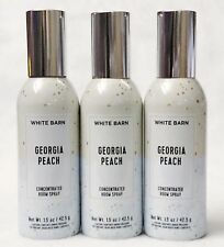 3 Bath Body Works GEORGIA PEACH Mini Concentrated Spray Mist Room Perfume