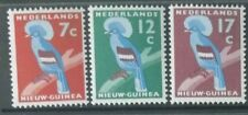 Netherlands New Guinea 1959 Blue-crowned pigeon full set mint lightly hinged