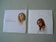 SARAH DARLING job lot of 2 promo CDs Halley's Comet You Take Me All The Way