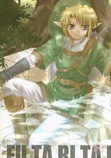 Legend of Zelda The Doujinshi Dojinshi Comic Link x Midna FU.TA.RI.TA.BI Riolabo