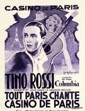 TINO ROSSI   FRANCE Document Philatélique Officiel  2390