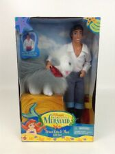 New Vintage 90s Prince Eric & Max Gift Set The Little Mermaid Disney Barbie Doll
