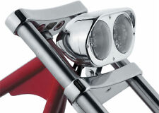 Motorcycle Halogen Chrome Twin Headlamp Dual Headlight Street Fighter Chopper