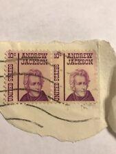 ~ 10 cent Andrew Jackson Issue, Precancel