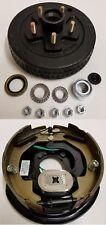 """Electric Trailer Brake 10"""" RH Backing Plate & Hub/Drum Kit (5 on 4.5"""")"""