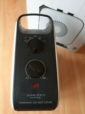 John Lewis Electric Fan Heater