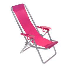 """FR 1:25 échelle 0.63/""""*1.34/"""" blanc Miniature en plastique chaise modèle Dollhouse"""