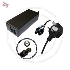 AC Charger Adapter For HP Compaq N193 CQ50 CQ60 CQ7065W + 3 PIN Power Cord S247