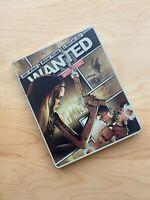 Wanted Limited Edition Comic Strip Steelbook Blu-ray DVD Angelina Jolie VG Condi