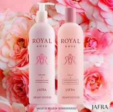 Set Jafra Royal Rose Body Oil / cream 16.9oz/500ml