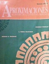 Aproximaciones Al Estudio De LA Literatura Hispanica (English and Spanish Editio