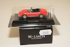 V 1:64 88 KYOSHO MINICAR COLLECTION FIAT LANCIA FIAT DINO SPIDER RED MINT BOXED