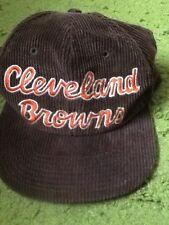 Vintage NFL Cleveland Browns Corduroy Starter Eastport Snapback Hat
