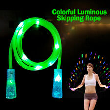 Light Show LED Jump Rope Glow Skipping Rope 250cm for Children Adults Fitness XI