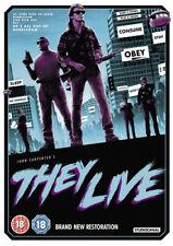 They Live DVD (2018) Roddy Piper, Carpenter (DIR) cert 18 ***NEW*** Great Value