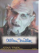 Star Trek Movies Heroes & Villains A116 Allan Miller autograph