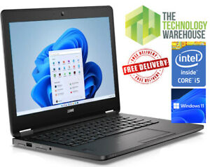 """Dell Latitude E7270 Laptop 12"""" Powerful i5 Laptop with SSD +Windows 10 or 11 Pro"""