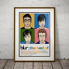 More details for blur - the best of promo print three print or two frame options new exclusive