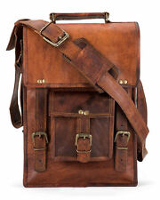 Men's Rustic Genuine Leather Messenger Shoulder Bag Small Cross Body Satchel