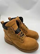 Wolverine Men's Floorhand 6 Inch Steel Toe Work Shoe - Wheat - size 11 Ew