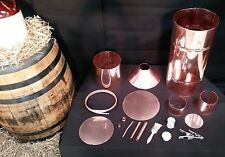 10 Gallon Whiskey Moonshine Still with Worm , complete Self Build kit