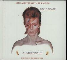 DAVID BOWIE Aladdin Sane 2003 issue UK 30th Anniversary Special Edition 2 RARE