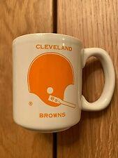 Vintage Chase & Sanborn  NFL Cleveland Browns Coffee Mug / Cup Nice