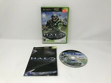 HALO: COMBAT EVOLVED - Not For Resale - Microsoft Xbox  - Complete in Box - CIB