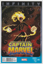 CAPTAIN MARVEL #15 | Vol. 6 | Binary | RARE Newsstand Price Variant | 2013 | VF+