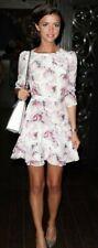 Reiss Giselle Rose Print Dress Size 6 RRP £169.00