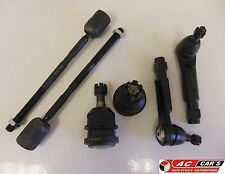 Fit Ford Mustang (1990-1993) 2 Lower Ball Joints 2 Inner 2 Outer Tie Rod Ends