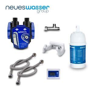 Untertisch-Wasserfilter: BRITA Filter-Kopf, BRITA Filter P1000 BRITA-Anzeige etc