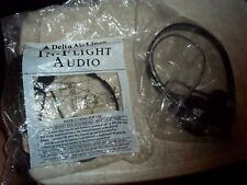 2 VINTAGE BNIP AIRLINES HEADSETS AUDIO HEAD PIECES AMERICAN & DELTA BRAND NEW