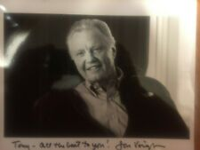 Jon Voight 8 x 10 Autographed Black and White Glossy Photo