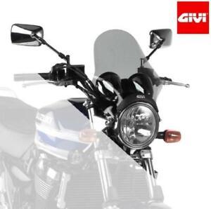 Windschutzscheibe Getönt GIVI A210 Für Speed Twin 1200 / Benelli Imperial 400/