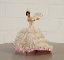 Rara noble coleccionista muñeca españa flamenco bailarina vintage 70er 80er años