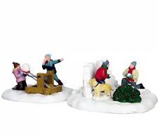 Table Accents Holiday Decor Lemax 9338674 Snowball Surprise Porcelain Village