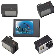 Pro LCD BacPac Display Viewer Monitor Screen w' Rear Back case for GoPro 4 3+ 3