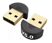 USB Bluetooth 5.0 Adapter for PC Win 10/8.1/8/7/XP/Vista - Semicircle New