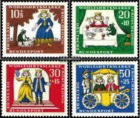 BRD (BR.Deutschland) 523-526 (kompl.Ausgabe) gestempelt 1966 Wohlfahrtsmarken