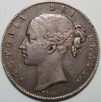 1844 | Victoria Crown w/Star Stops | Silver | Coins | KM Coins