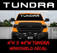 Toyota Tundra Windshield Truck, off road Racing 4x4 Decal Sticker Vinyl Banner